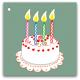 134 tårta 4 år