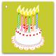 136 tårta 6 år