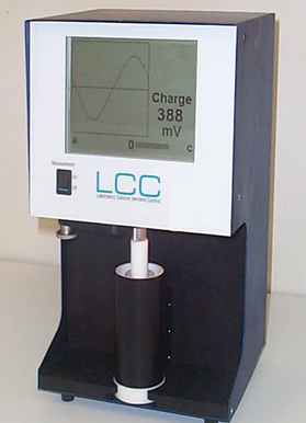 Measuring instrument for anionic-/cationic demand