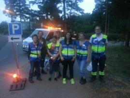FRG Järfälla i insats, Västmanlandsbranden 2014