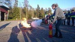 Brandutbildning för FRG-are