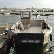 Arbetsbåt, fram_Foto: H. Bredin