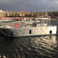 Arbetsbåt, sidan_Foto: H. Bredin