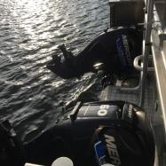 Detaljer arbetsbåt_motorer_Foto: H. Bredin