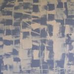 utan titel 5, 100x85 cm, akryl, Pris 9000:-