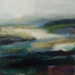 Såld, Landskap 16, 20x20 cm