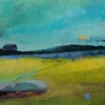 Såld, Landskap, 27x27 cm