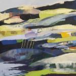 Såld ,Landskap 1. 54x54 cm