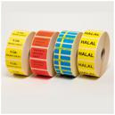 Etiketter med text 37x22mm 2000st