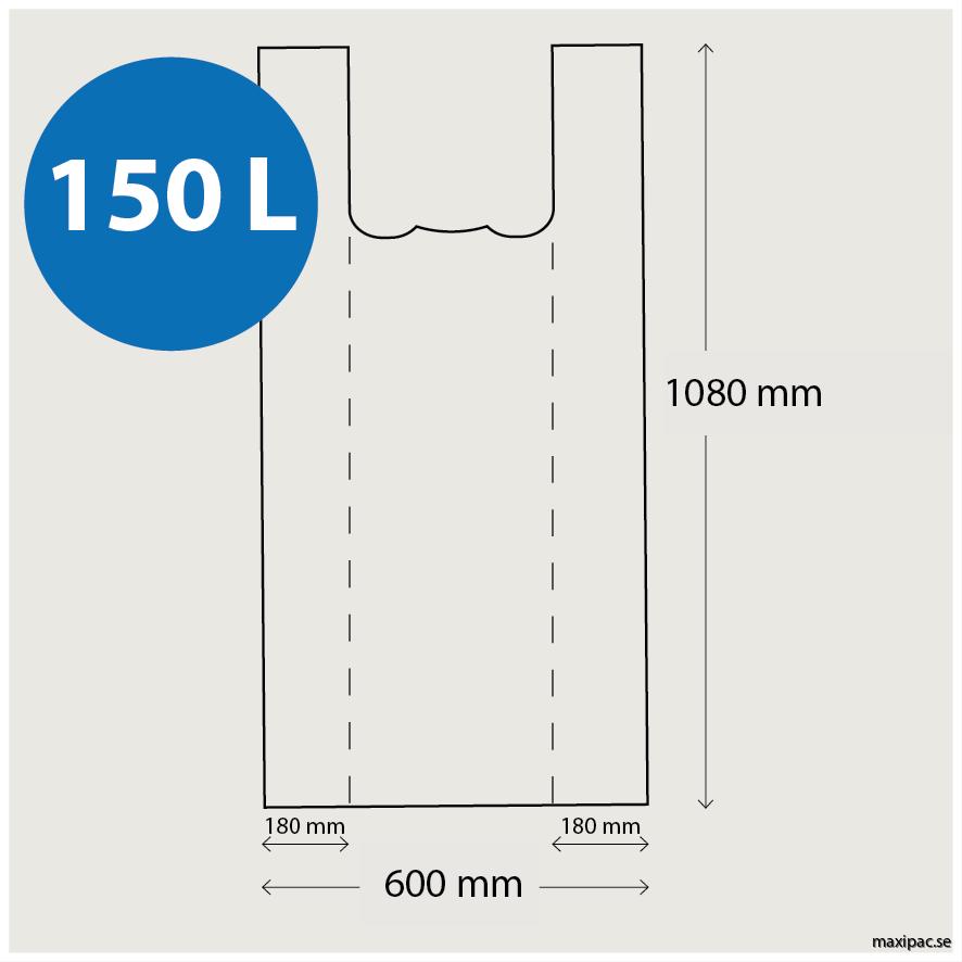 mått 150L