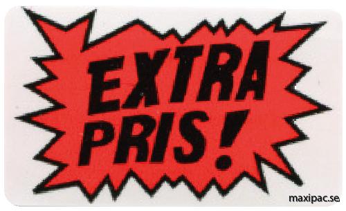 extra pris