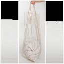 Sopsäck transparent 160 liter