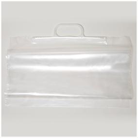 Handtagspåse transparent 400x600mm 350st/kartong - Handtagspåse transparent 400x600mm 350st/kartong