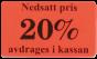 Etiketter 37x22mm 10-50% 2000st - 20%