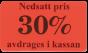 Etiketter 37x22mm 10-50% 2000st - 30%