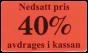 Etiketter 37x22mm 10-50% 2000st - 40%