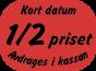 Etiketter med text 35x25 mm 2800st - Kort datum - halva priset - avdrages i kassan