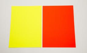 Skyltkartong - A4 25st - Röd