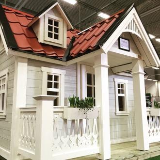 Playhouse and playhouses from swedish playhouse company Lektema