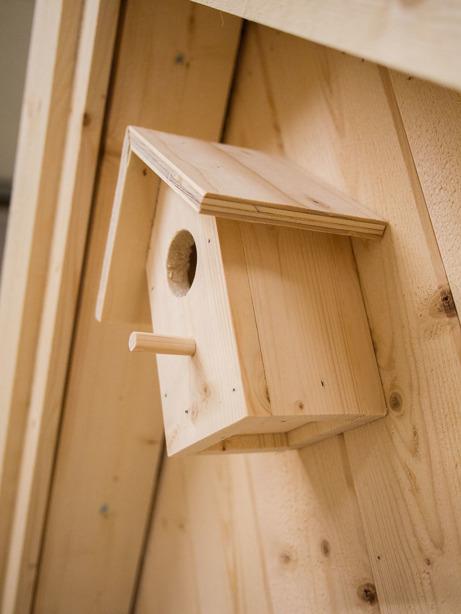 Vogelhaus - Lektema Spielhäuser