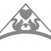 Gavelornament - Gavelornament Ekorre 3 st