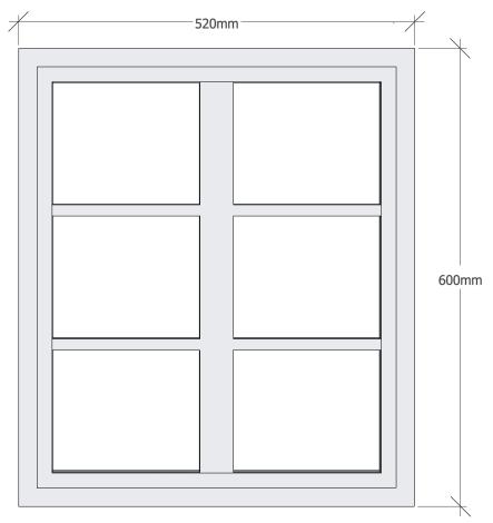 Fönster öppningsbart -