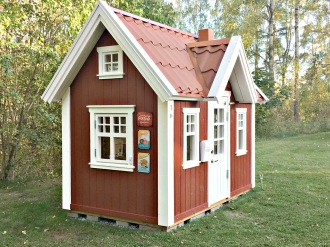 Playhouse and playhouses from swedish playhouse company Lektema