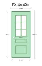 Fönsterdörr -