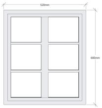 Fönster öppningsbart - Vänsterhängd