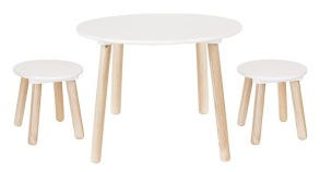 Bord med två pallar - Bord med två pallar