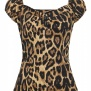 Dolores topar 3st olika Collectif - Leopard Stl.XL