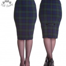 Jodie pencil skirt,  Hell Bunny
