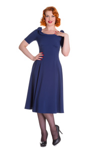 Bianca - Bianca dress  navy,  stl L
