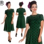 Madden dress, finns flera färger - grön/svart stl XS