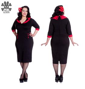 Thelma dress - Thelma  röd  stl XS