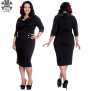 Thelma dress - Thelma  vit  stl XL