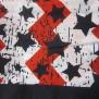Bandana, mönstrade - bandanas mönstrade  blå stjärnor