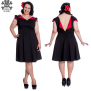 Evie dress - Evie röd  stl 4XL