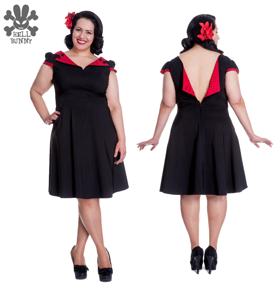 Evie dress - Evie röd  stl XS