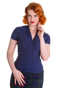 Rosina blouse - Rosina  navy  stl XS