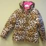 Leopard jacka - leopard barnjacka  stl  XL (10-12år)
