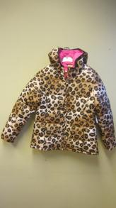 Leopard Jacket Girl - Leopard Jacket Girl  stl (7-8år)