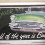 Card holder - Kort hållare, Buick 1955