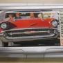 Card holder - Kort hållare, Chevrolet 1957