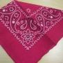 Bandanas  mönstrade - mönstrad rosa
