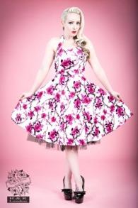 Sakura Blossom swing dress - Sakura blossom rosa stl 4XL