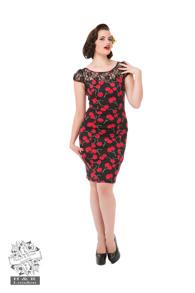 Cherry klänning - Cherry pennklänning stl XS
