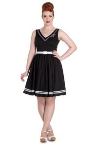 Ariel dress, 2 färger - Ariel dress, svart stl M