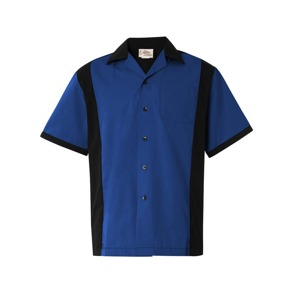 Bowling shirt 4 olika färger - Bowling skjorta, royal blå, stl XL