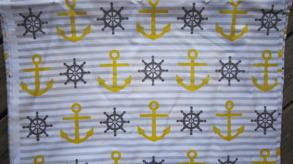 Sailor tyg 3 olika färger - Salior tyg gul, 1m ( tygbiten är 2m)